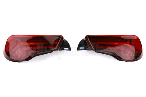 TOMS LED Tail Lights JDM V2 Red - Scion FR-S 2013-2016 / Subaru BRZ 2013+ / Toyota 86 2017+