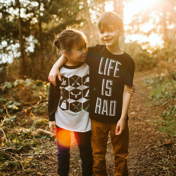Locomotive Clothing Youth Collection Northern Icons Life is Rad