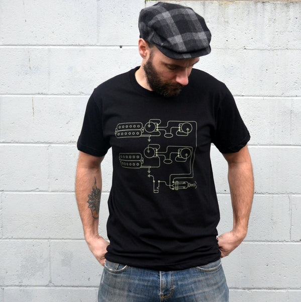 Electric Guitar Pickups Tee - Men