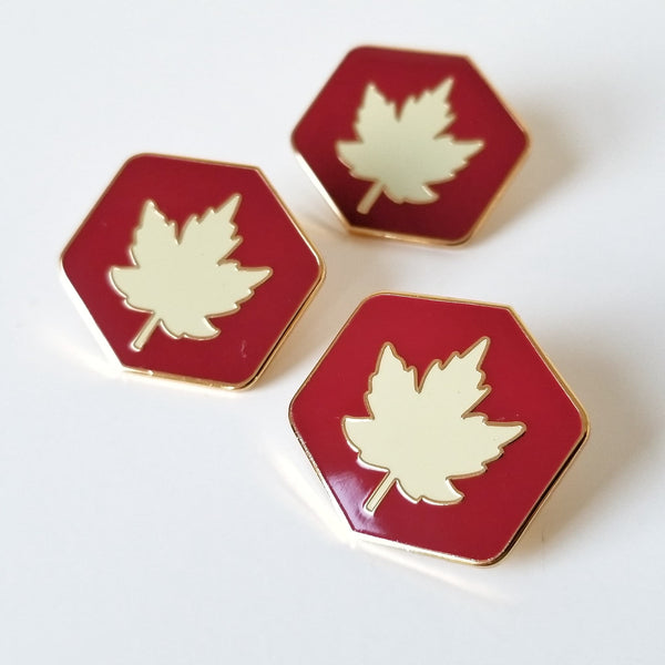 Maple Leaf Enamel Pin