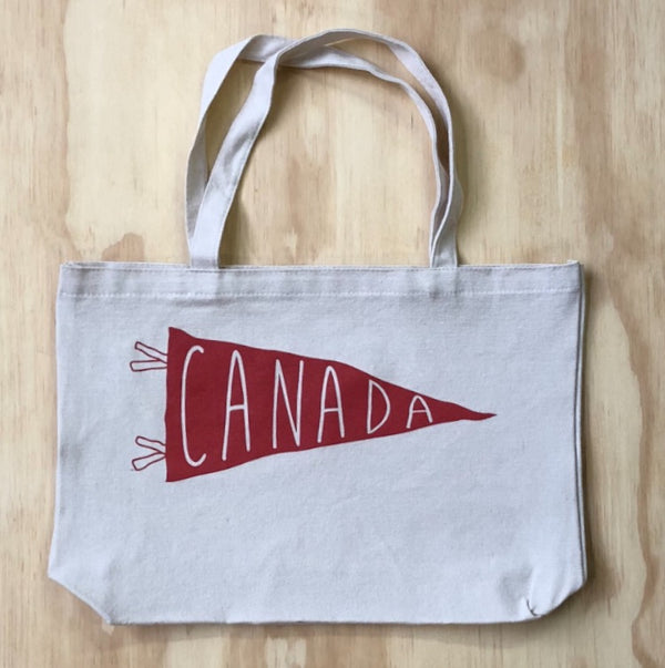 Canada Edition Pennant Tote Bag