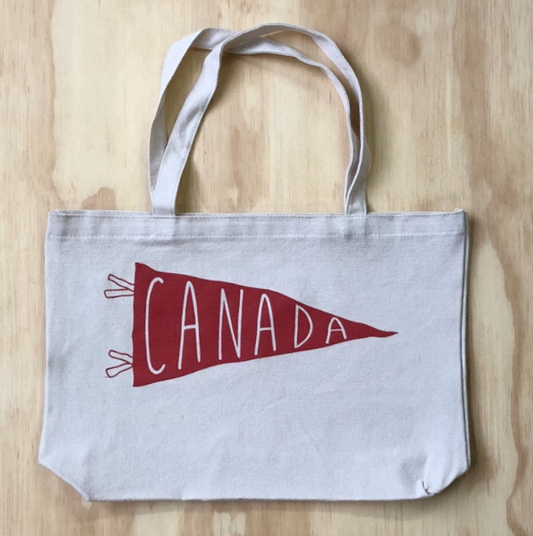 6b30adcf91d Canada Edition Pennant Tote Bag