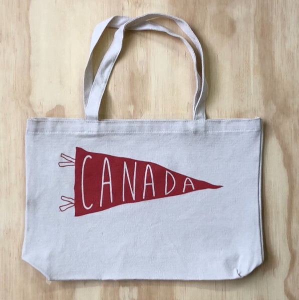 Canada 2018 Edition Pennant Tote Bag