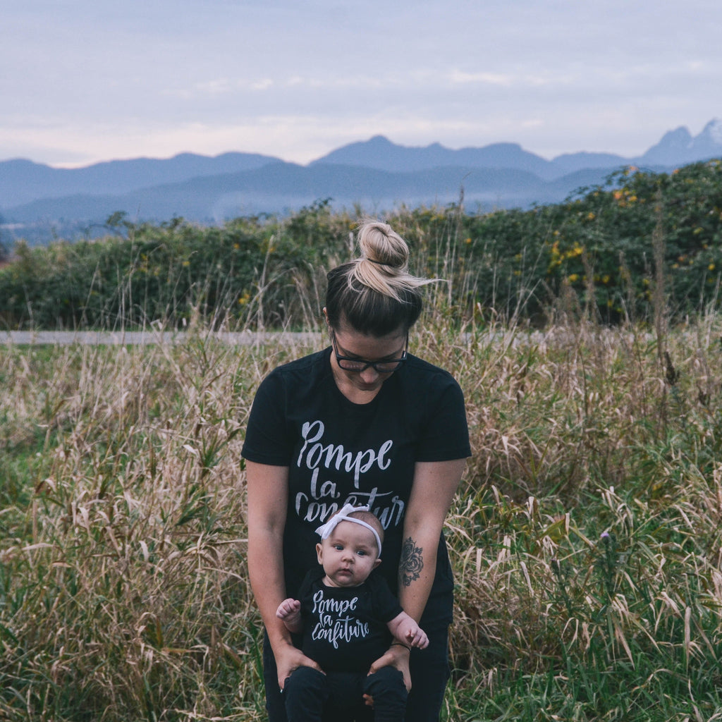 Babies Pump up the Jam Tee (BLACK)