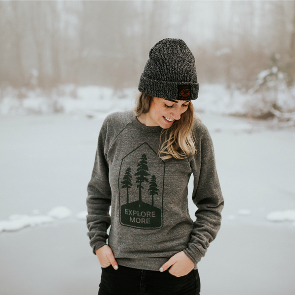 Explore More Crew Sweatshirt - Unisex