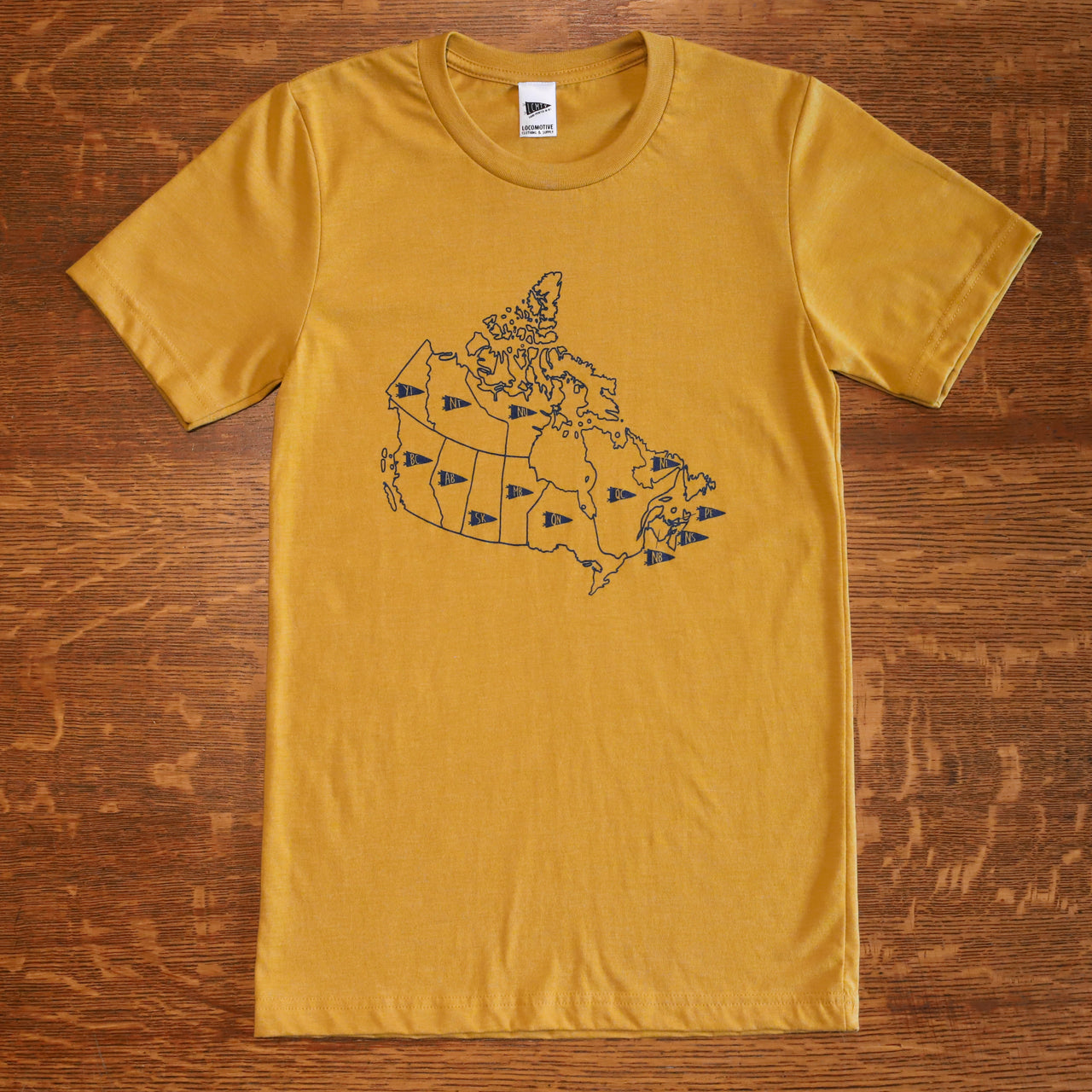 Map of Canada Tee - Men
