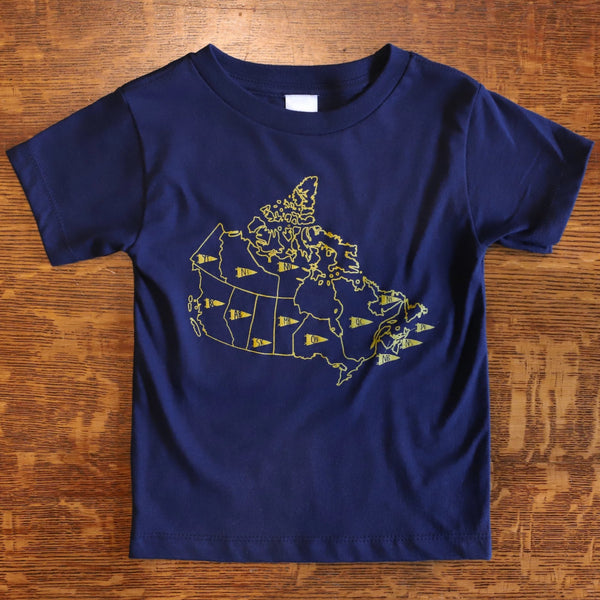 Map of Canada Tee - Kids