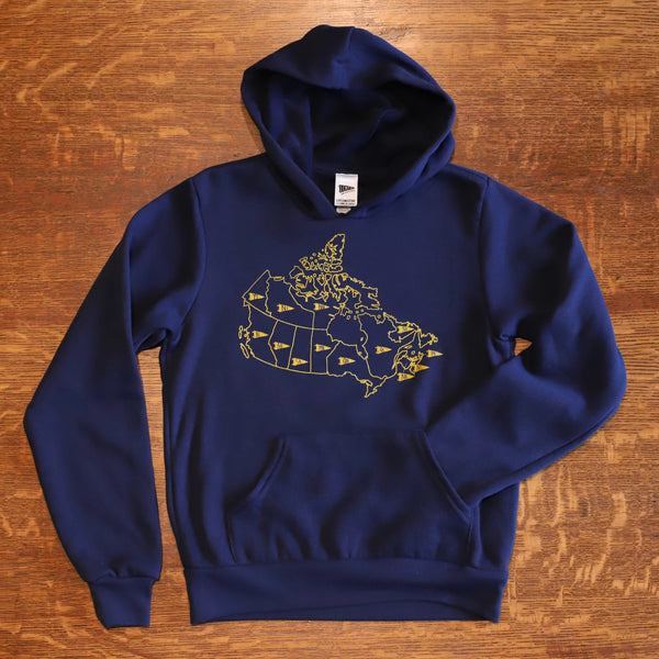 Map of Canada Hoodie - Youth