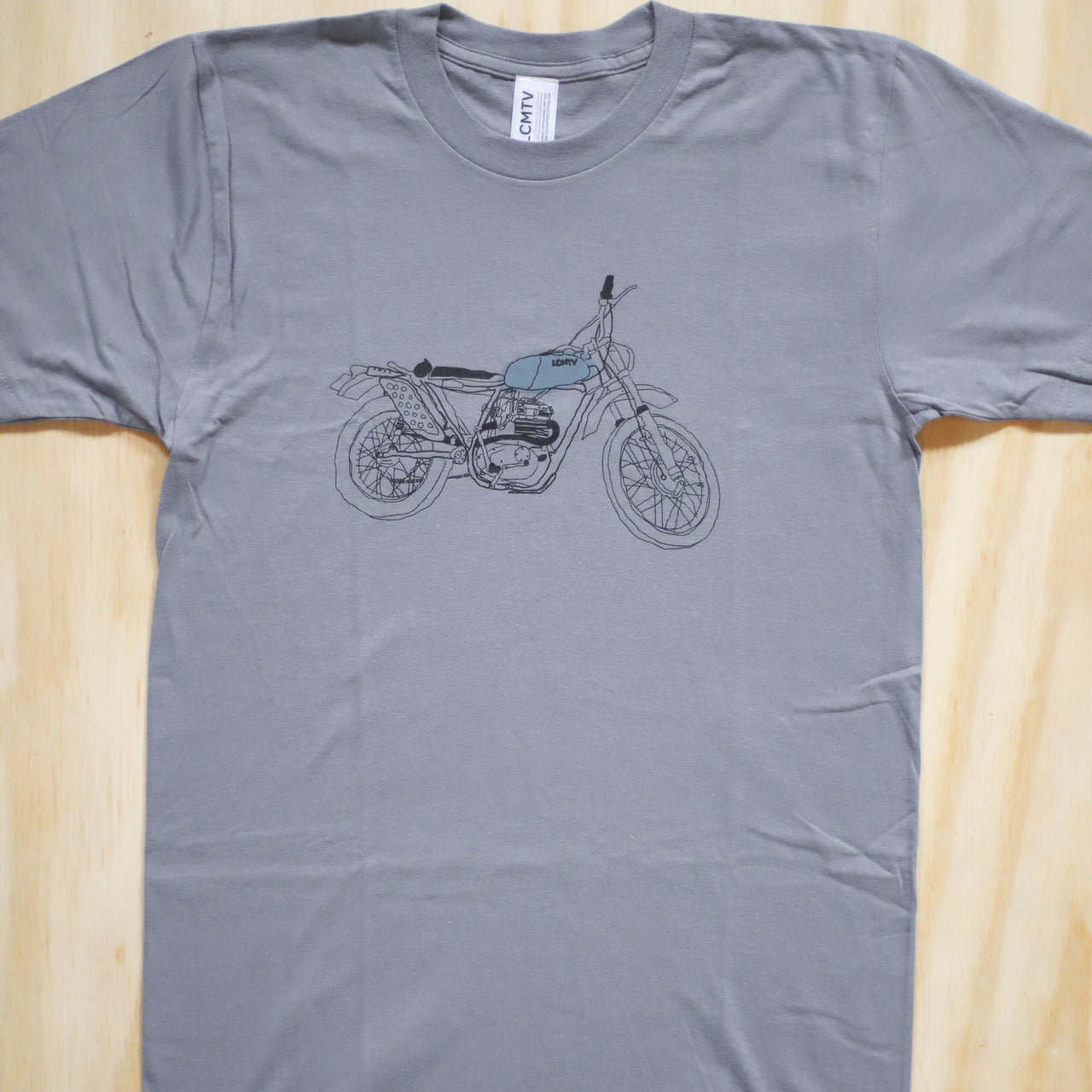 Scrambler Motorcycle Tee - Men's
