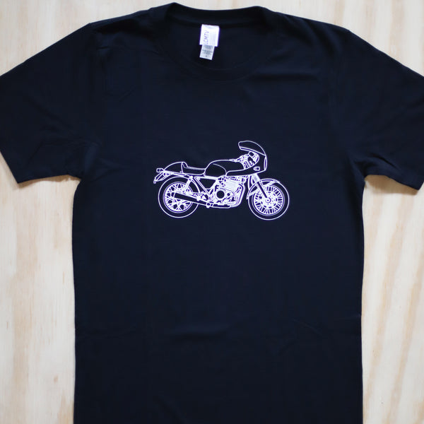 Cafe Racer Tee - Unisex - ONE SMALL LEFT!