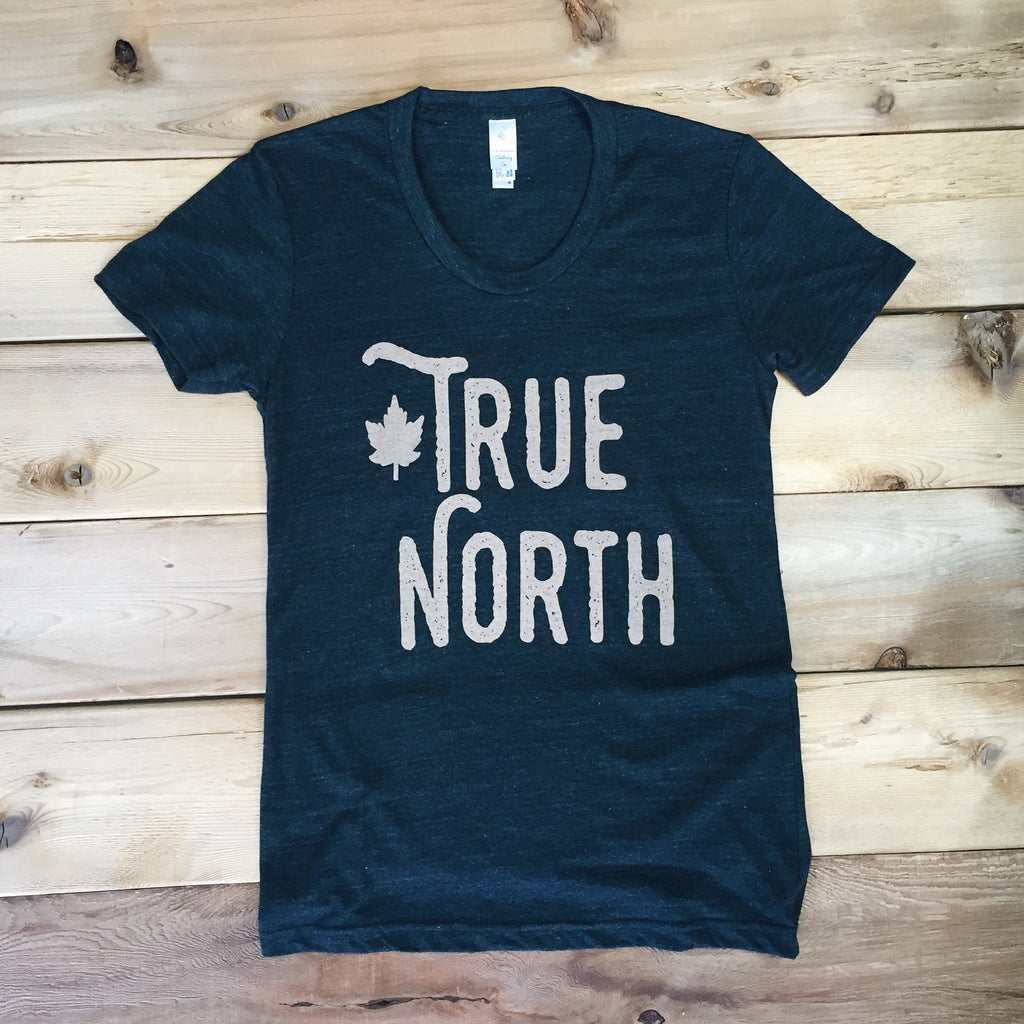 True North Tee (TRI BLACK) - Locomotive Clothing - 2
