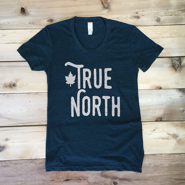 True North Tee (TRI BLACK) - Locomotive Clothing - 1