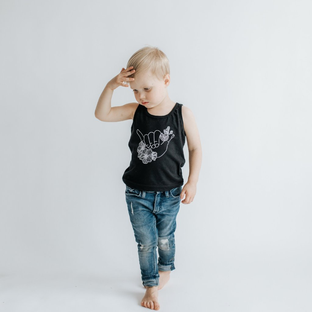 Shaka + Dogwood Tank Top - Kids