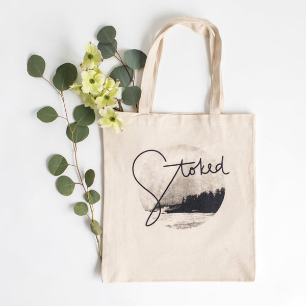 Stoked Tote Bag
