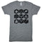 Northern Icons Tee (ATHLETIC GREY) - Locomotive Clothing - 2