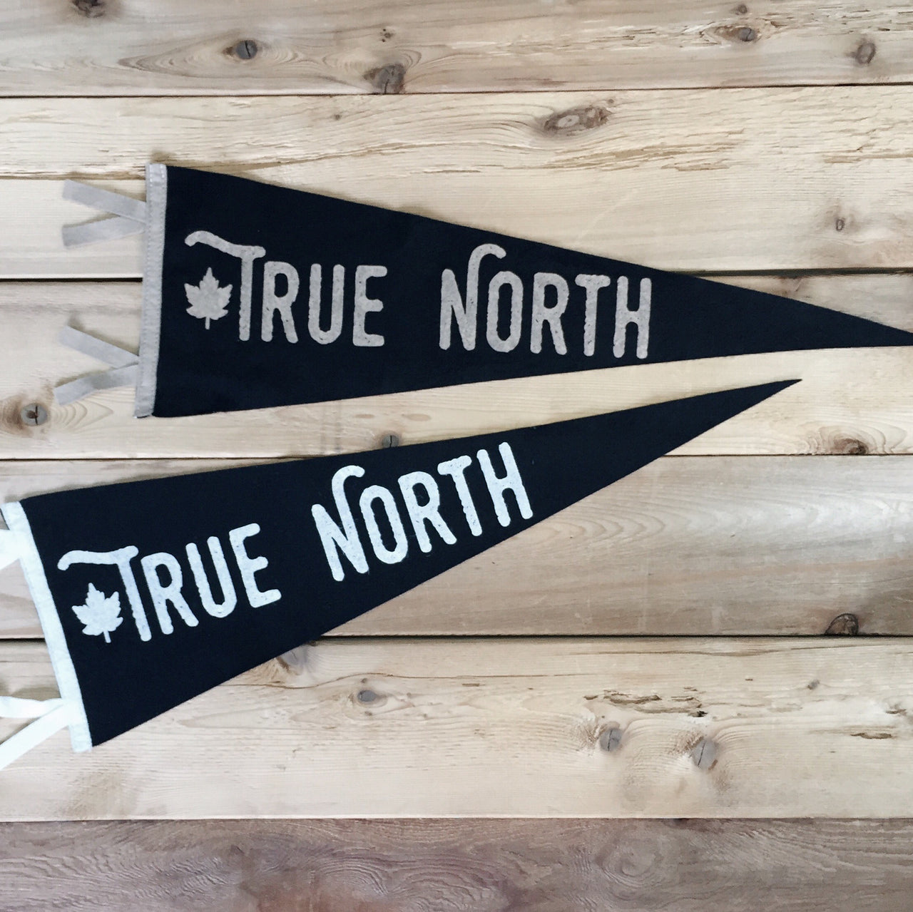 True North Wool Pennant - Locomotive Clothing