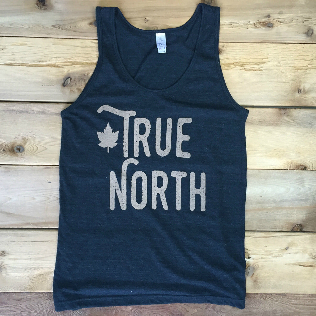 True North Unisex Tank (TRI BLACK) - Locomotive Clothing - 2
