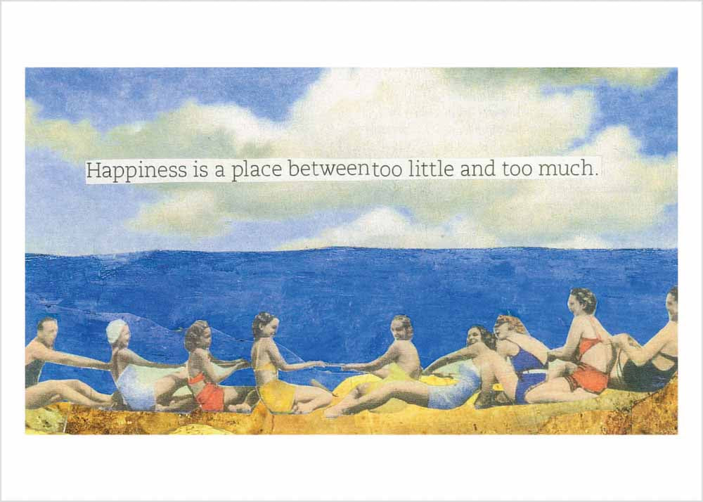 Happiness is a place