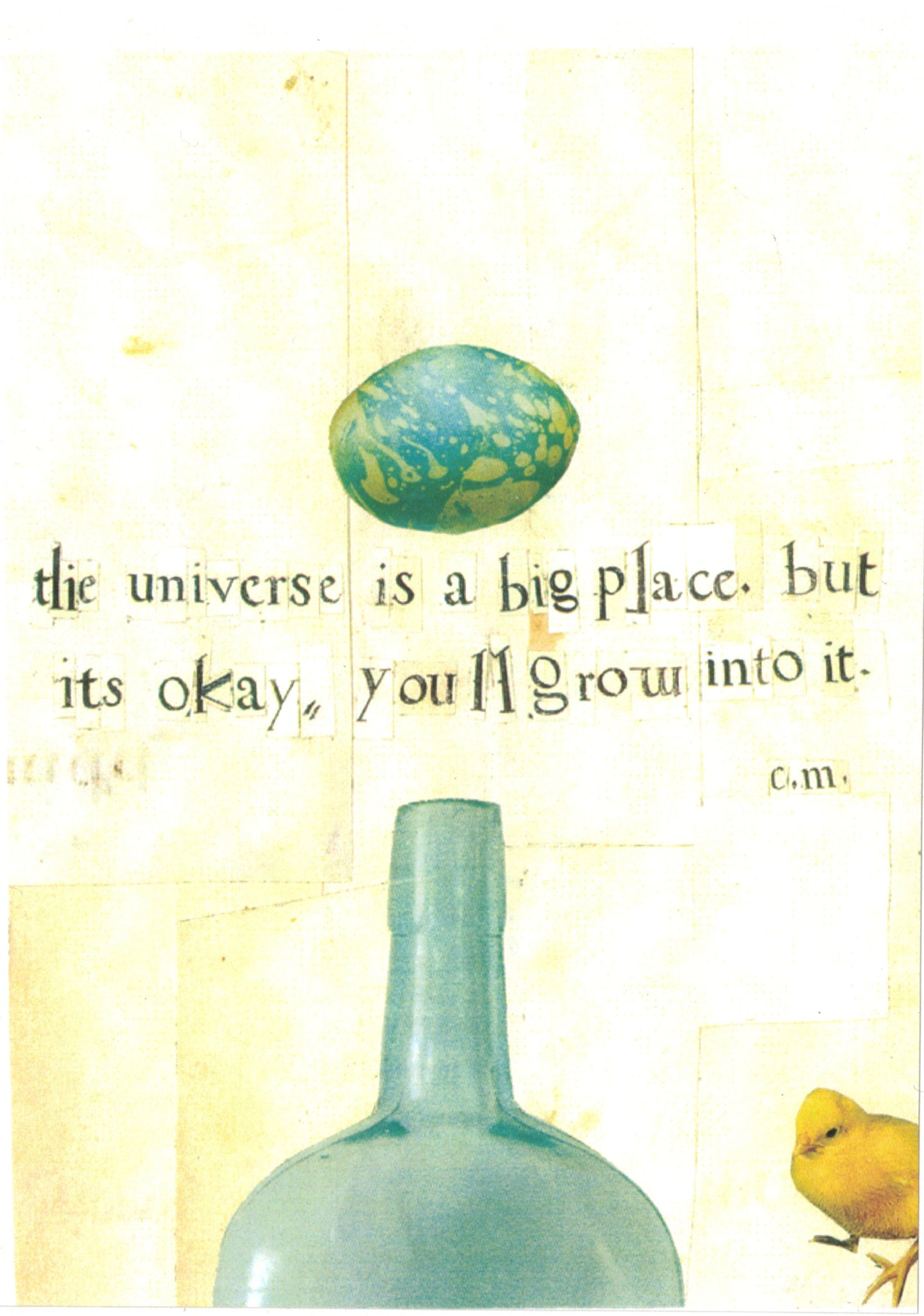 The universe is a big place