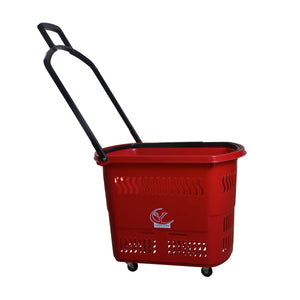 Rolling Red Basket