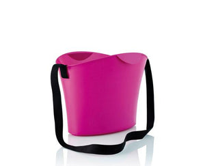 Magenta Basket with Cable 15L