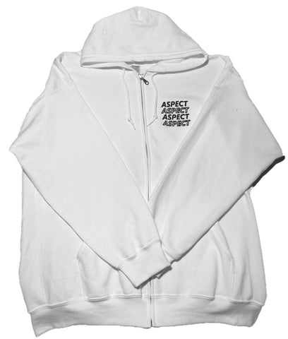 Aspect's Chillwear Zip-Up Jacket - White Edition