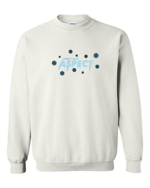 Aspect's Embroidered Icicle Crewneck