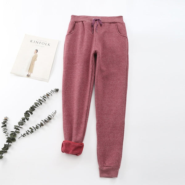 Velvet Warm Soft Sweatpants