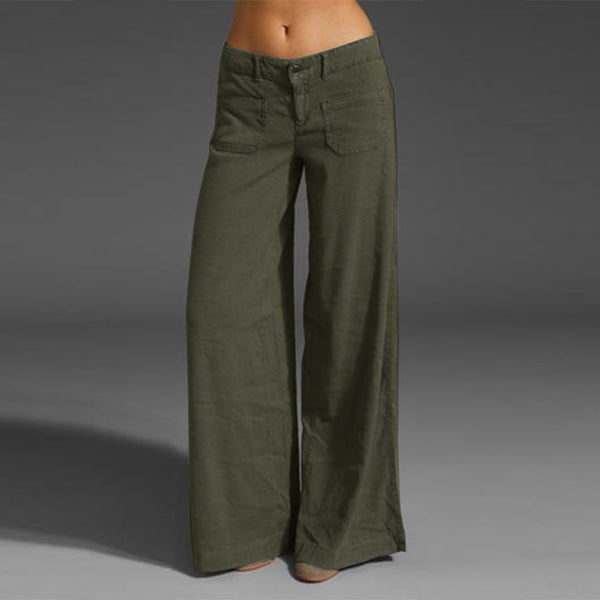 Diva Wide Leg Pants (Plus Size Available)