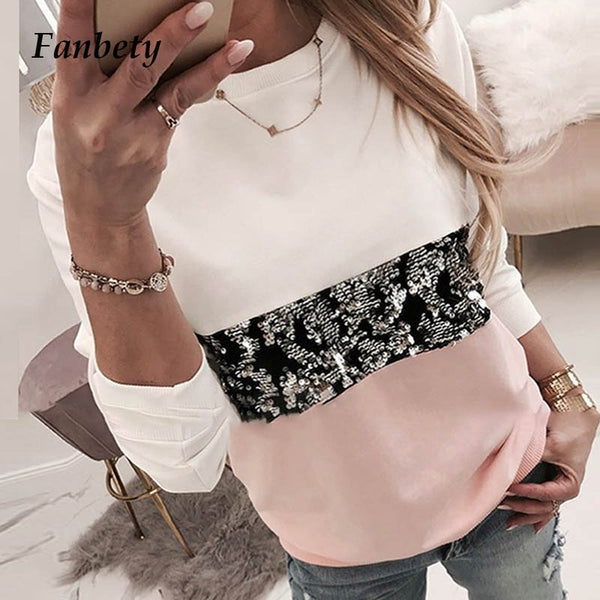 Women Diamond Print Leopard Long Sleeve Shirt