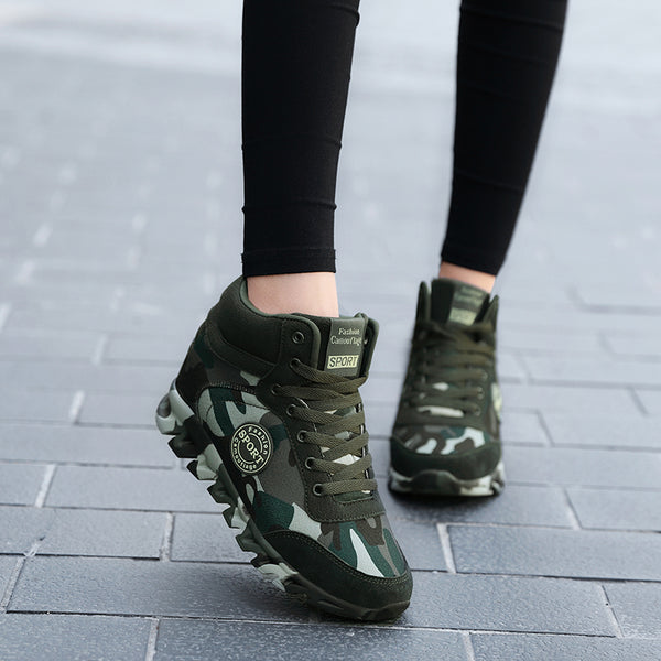 Women Camouflage Sneakers