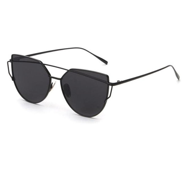 Cat Eye Sunglasses Metal Frame
