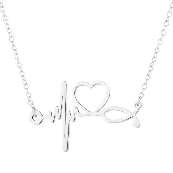 Love Stethoscope Necklace