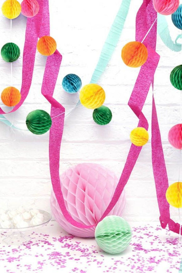 HONEYCOMB GARLAND - Decoration
