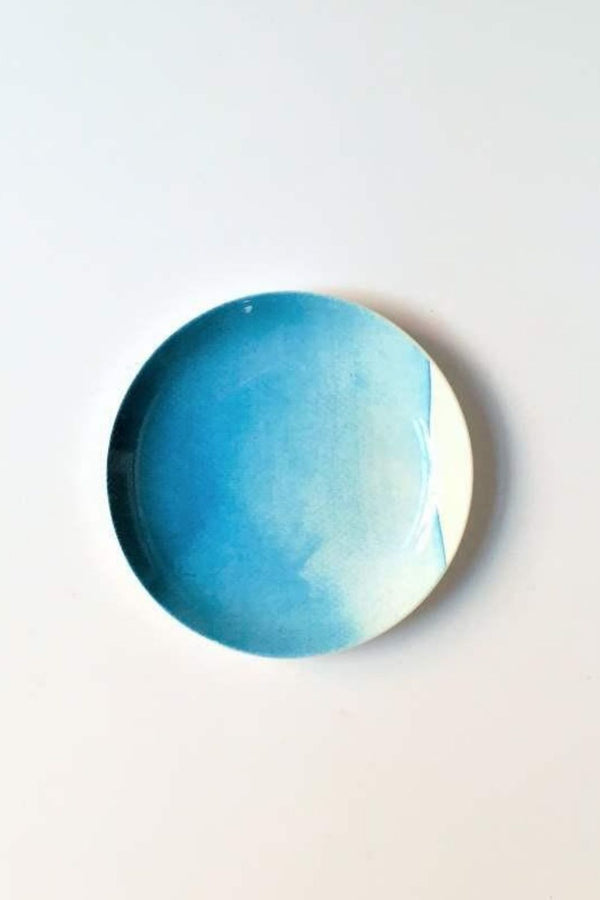 Marnie APPETIZER PLATE - Wave Blue
