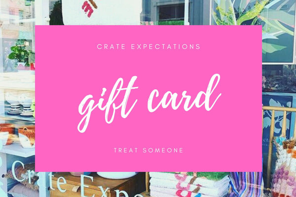 Gift Card Choose from $50, $100, $150, $200, $250, $500 - CrateExpectations