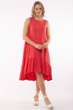 Elm Jasmine dress RED