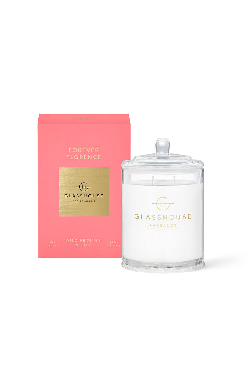 FOREVER FLORENCE -  WILD PEONIES & LILY - 380g - CrateExpectations