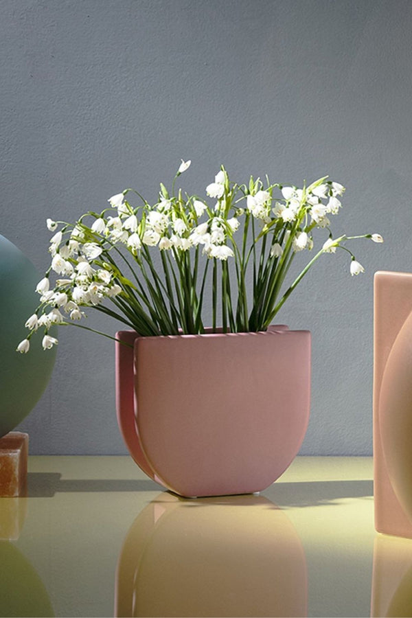 KAS - Lunar Small Vase Dusty Pink