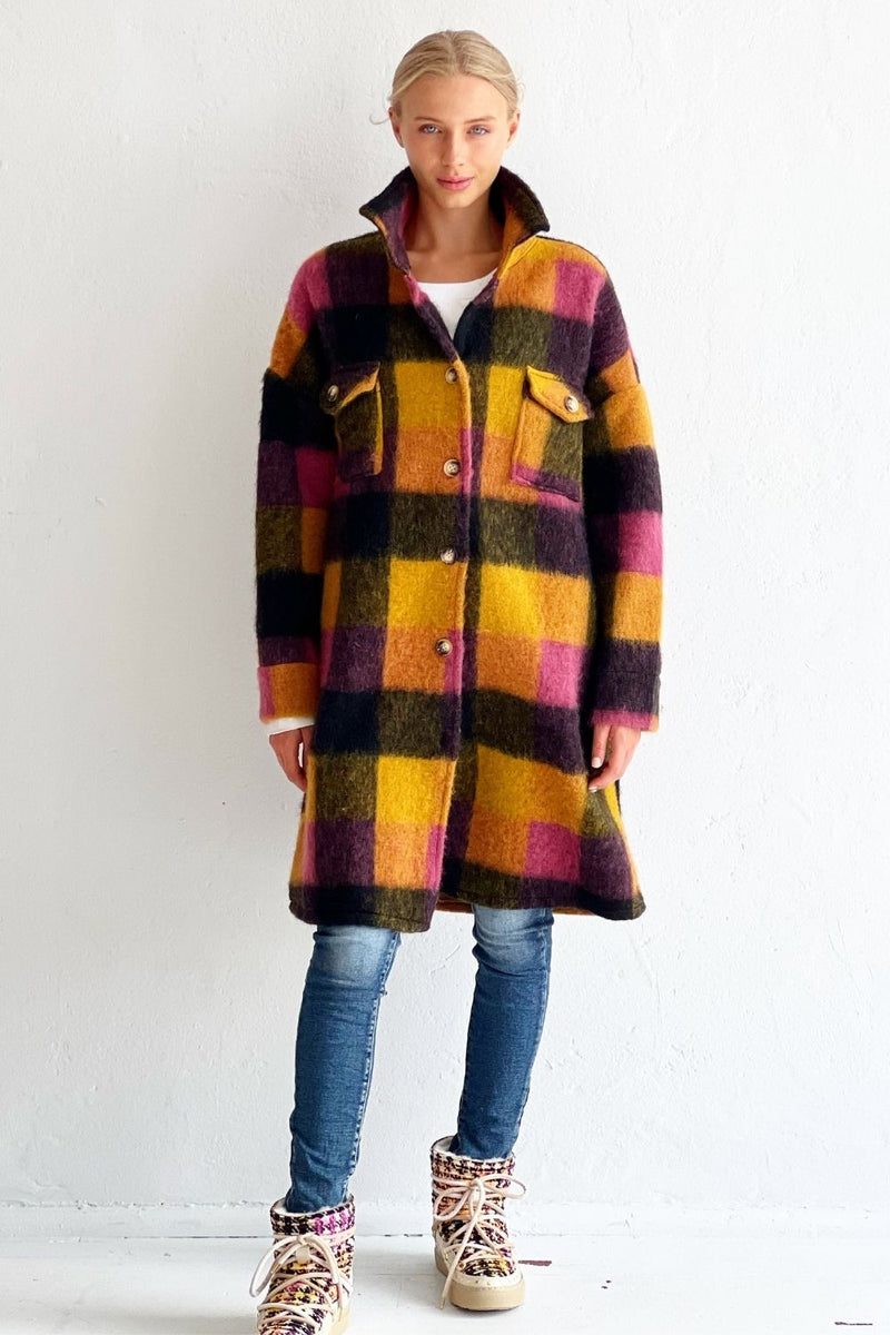 EMELDO - Lola Earrings Rose pink with pink
