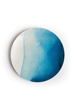 Marnie DINNER PLATE - Wave Blue