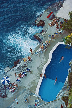 POOL AT AMALFI COAST - CrateExpectations
