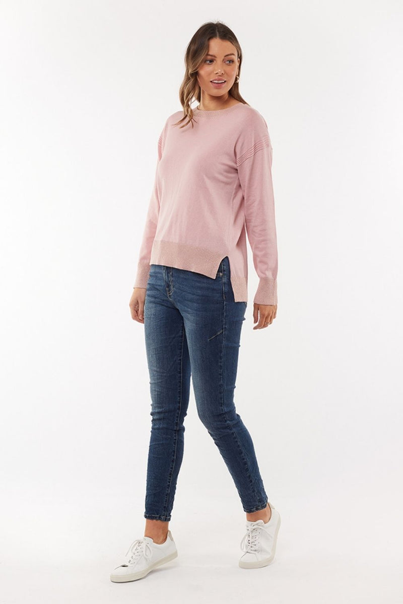 Kensington Jumper - Rose