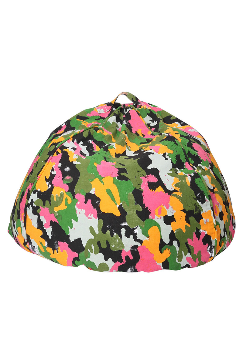 CAMO PINK CANVAS BEANBAG COVER - CrateExpectations