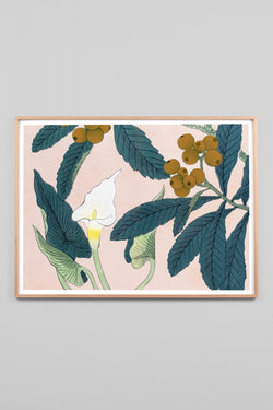 CALLA LILLY WOODBLOCK - CrateExpectations