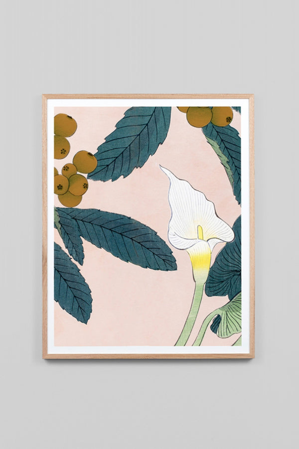 CALLA LILLY WOODBLOCK 2 - CrateExpectations