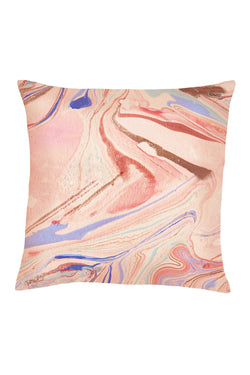 MARBLE MAGIC LINEN PILLOWCASE EURO - CrateExpectations