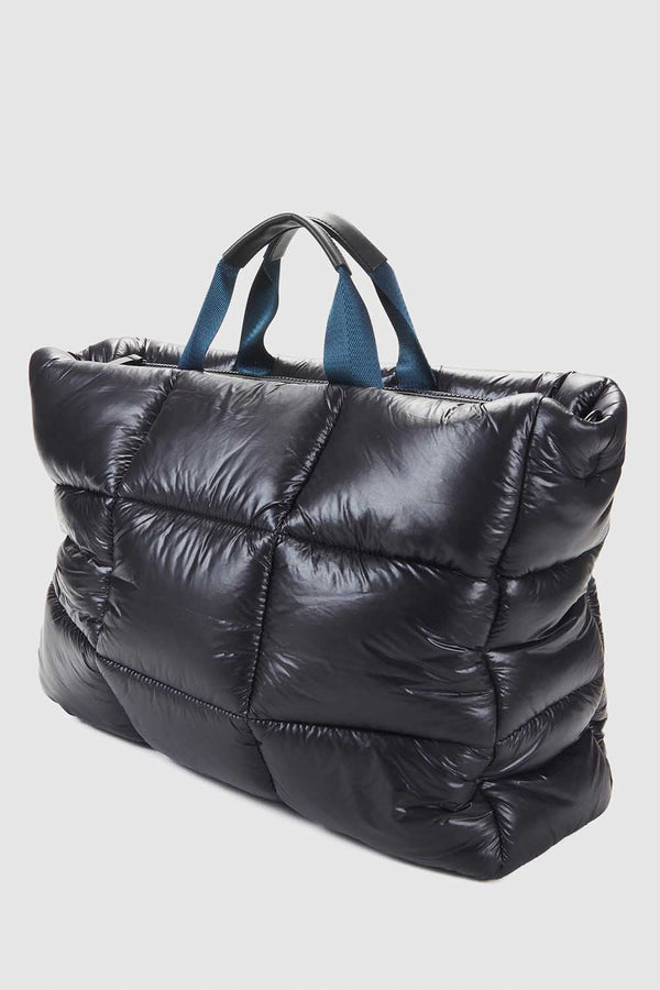 XL PUFF TOTE - NEO BLACK - PRE-ORDER MID TO LATE MAY