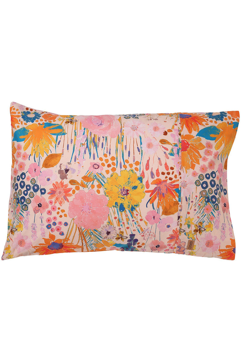 KIP & CO - PINKY FIELD OF DREAMS  PILLOWCASES x 2