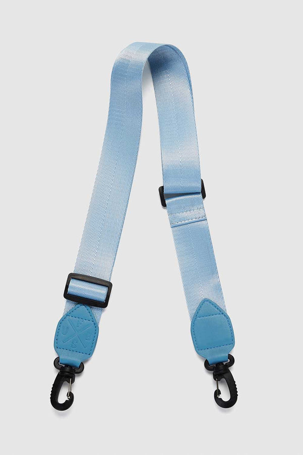FIRST BASE - WEBBING BAG STRAP - ICE BLUE - PRE-ORDER MID TO LATE MAY